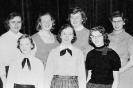 1957 FHA  - Marjorie Brown, Deana Semon, Carolyn Andrews