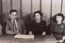 1951 - Mr. Sonderman, Miss Williams, Miss Lang