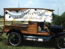 A 1923 Model T Ford and homemade ice cream