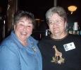 Nancy Gerard Russell & Audrey Henderson Schafer - Class '67 40th Reunion
