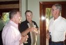 David, Bob & Roy at Charlie Digges' Home on Friday night